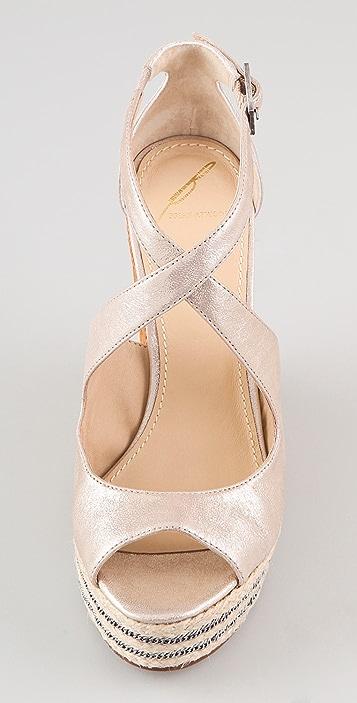 B Brian Atwood Dekoda Platform Sandals