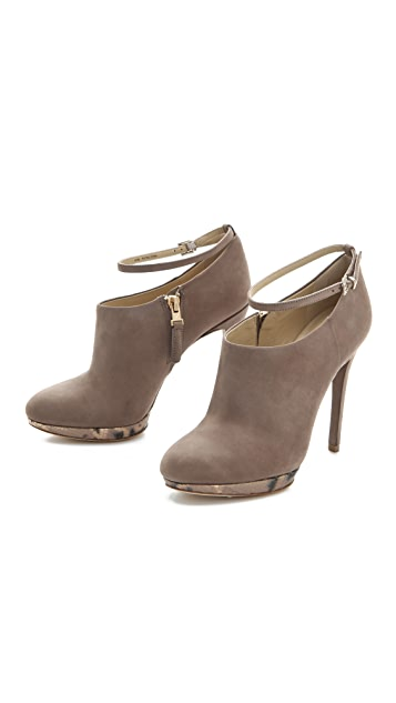 B Brian Atwood Fruitera Sliver Booties