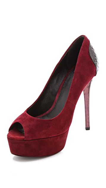 B Brian Atwood Blayne Two Tone Pumps