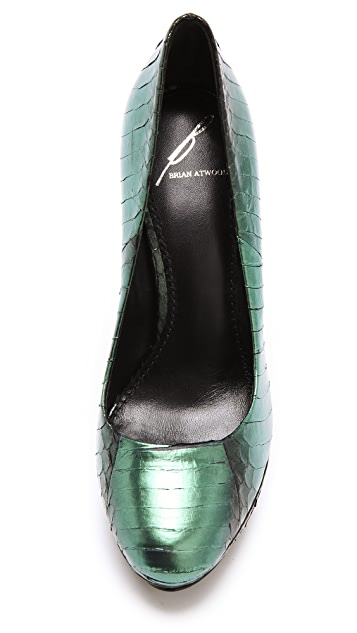 B Brian Atwood Fontanne Iridescent Pumps