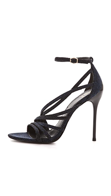 B Brian Atwood Lesina Sugar Paint Sandals