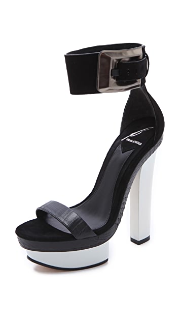 B Brian Atwood Braganca Platform Sandals