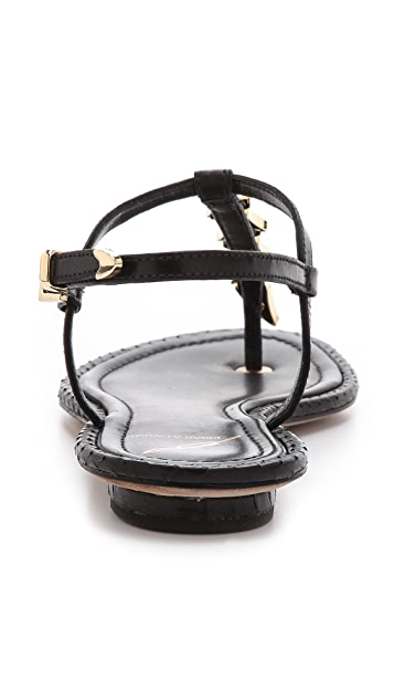 B Brian Atwood Crikett Flat Sandals