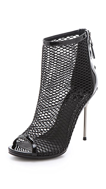 B Brian Atwood Michelet Mesh Booties