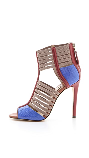 B Brian Atwood Langden Multicolor Sandals