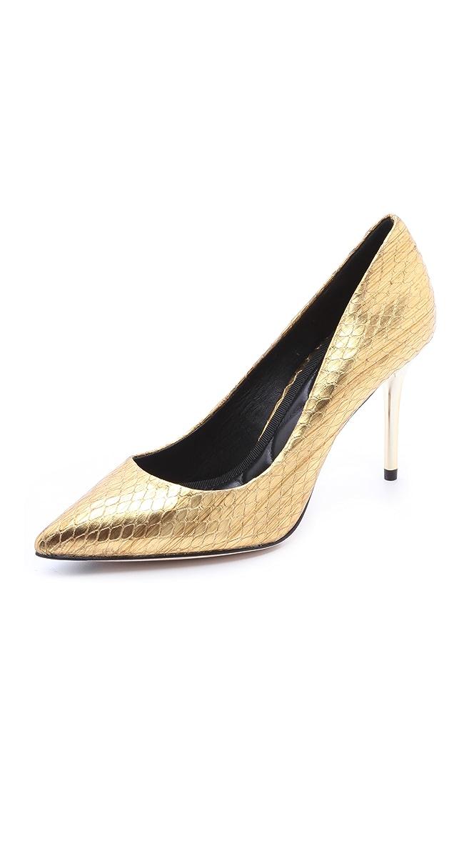 B Brian Atwood Malika Mid Heel Pumps Shopbop
