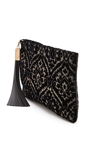 B Brian Atwood Lana Oversized Clutch
