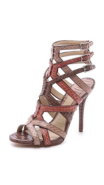 B Brian Atwood Carbinia Strappy Sandals