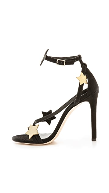 B Brian Atwood Licata Star Sandals