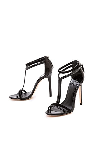 B Brian Atwood Lydia T Strap Sandals