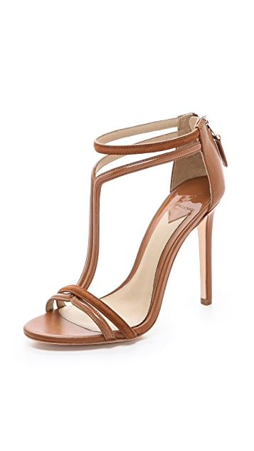 B Brian Atwood Lydia Tstrap Sandals