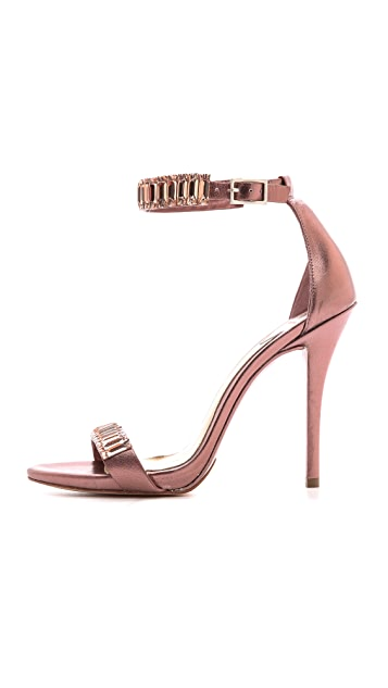 B Brian Atwood Ciara Jeweled Sandals