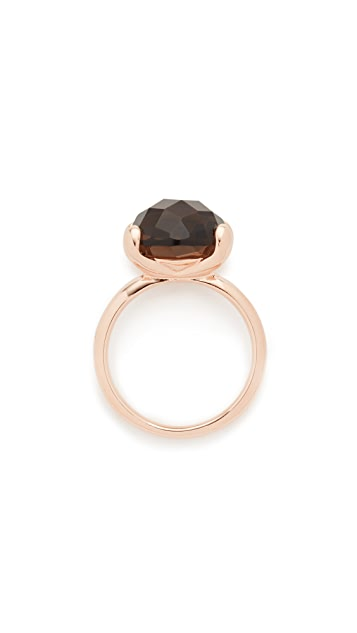 Bronzallure Faceted Stone Ring