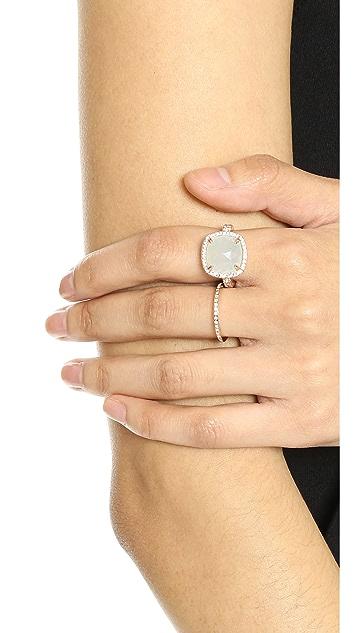Bronzallure Кольцо с ограненным камнем