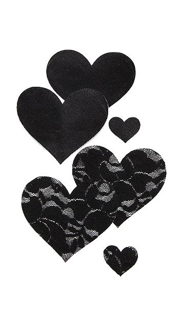 Bristols 6 Heart Nippies