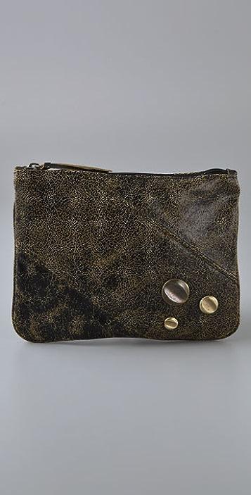 81b233c4278a Bryna Nicole Bay Three Stud Cross Body Bag   Clutch