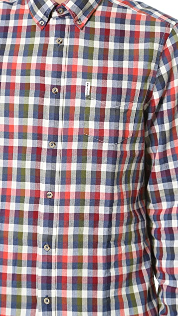 Ben Sherman Indigo Plaid Shirt