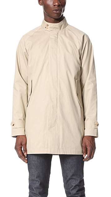 Ben Sherman Raglan Sleeve Mac Coat