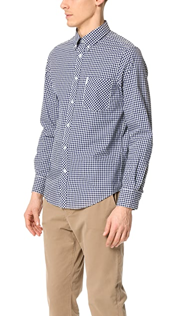 Ben Sherman Gingham Button Down Shirt