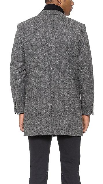 Brooklyn Tailors Handmade Tweed Topcoat
