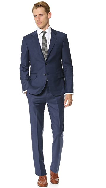 Brooklyn Tailors Super 120 Wool Suit Jacket
