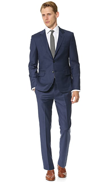 Brooklyn Tailors Super 120 Wool Suit Trousers