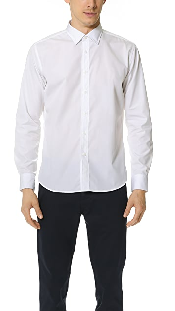 Brooklyn Tailors Classic Poplin Dress Shirt