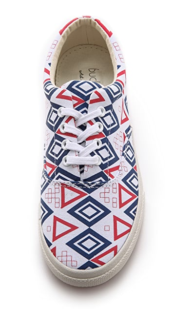 BucketFeet Nautical Sneakers