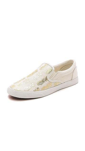 BucketFeet Pineappleade Slip On Sneakers
