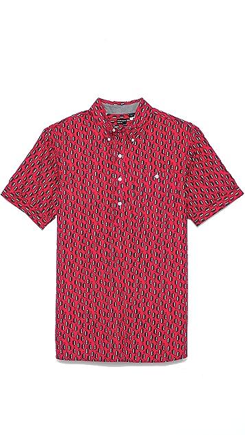 Burkman Bros. Short Sleeve Popover Shirt