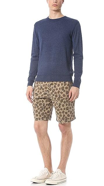 Burkman Bros. Plain Front Military Shorts