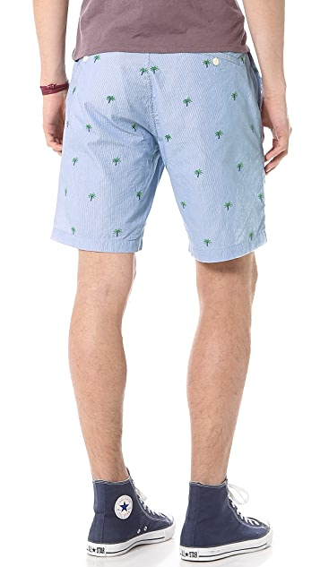 Burkman Bros. Striped Shorts