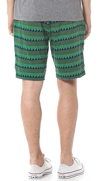Burkman Bros. Reversible Jersey Shorts