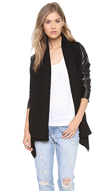 By Chance Sonia Ribbed Cardigan