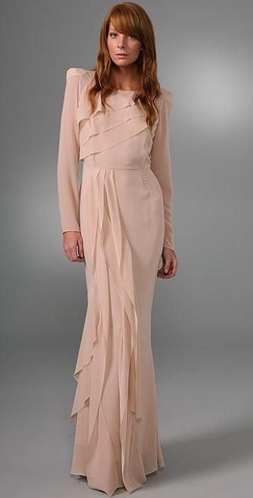 d09dc041c67b By Malene Birger Roduch Long Sleeve Gown