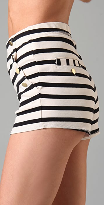By Malene Birger Nacci Stripe Sailor Shorts