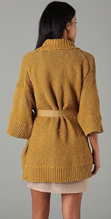 By Malene Birger Micala Belted Sweater Jacket