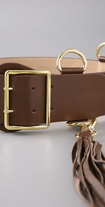 By Malene Birger Essa Belt with Tassel Detail