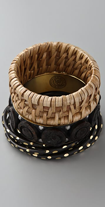 By Malene Birger Baksin Bangle Set