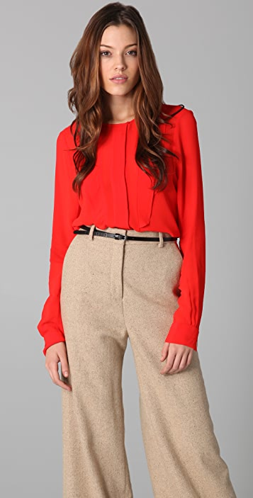By Malene Birger Carletta Long Sleeve Blouse