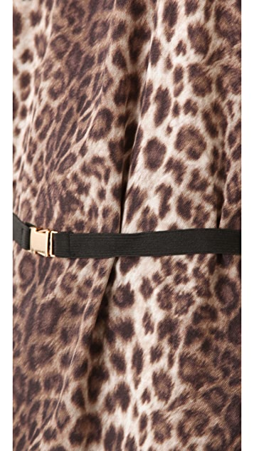 By Malene Birger Diogene Leopard Shift Dress