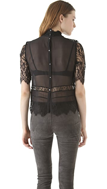 By Malene Birger Dafuna Lace Blouse