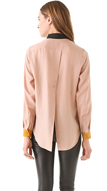 By Malene Birger Ancilla Slit Back Top