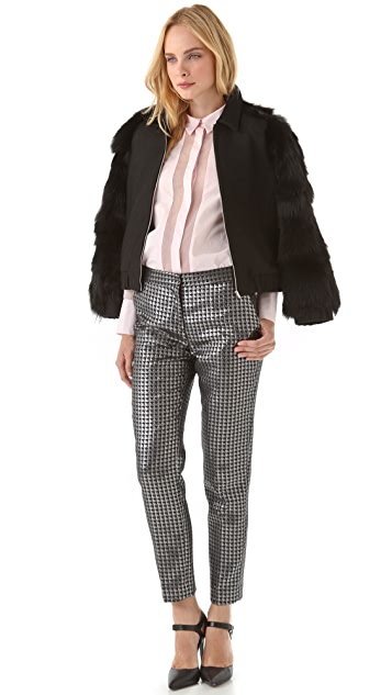 By Malene Birger Sarafina Houndstooth Pants