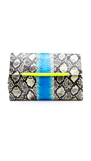 By Malene Birger Wascina Snakeskin Clutch