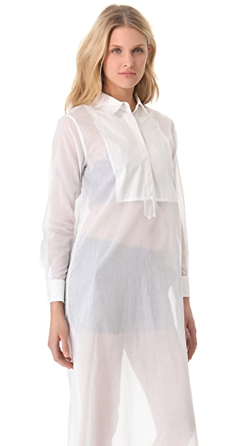 By Malene Birger Ajaj Cotton Voile Tunic