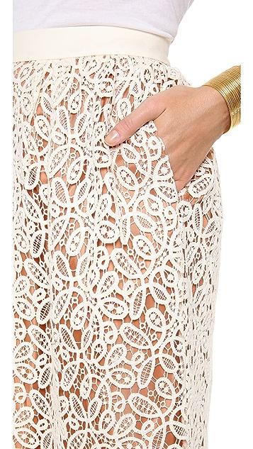 By Malene Birger Laenmar Lace Skirt
