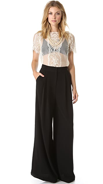By Malene Birger Gwanda Wide Leg Trousers