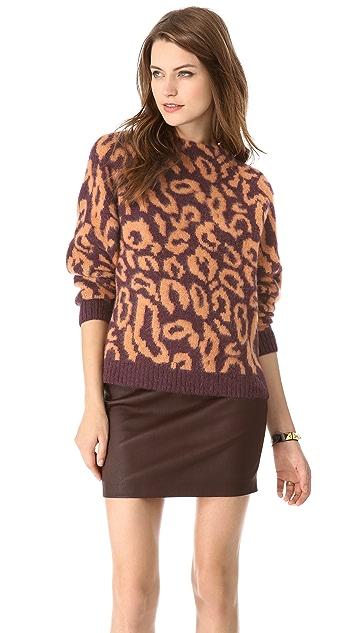 By Malene Birger Fensia Leopard Pullover