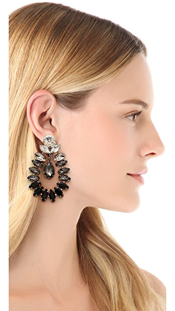 By Malene Birger Moon & Stars Risina Earrings